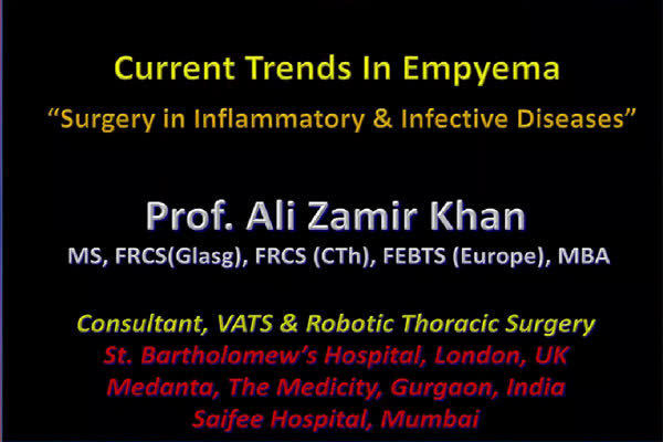 Current trends in Empyema
